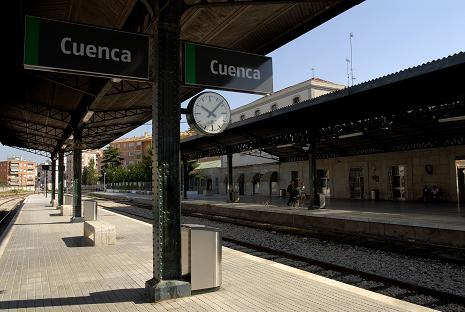 Estación de Cuenca. 7 2008.